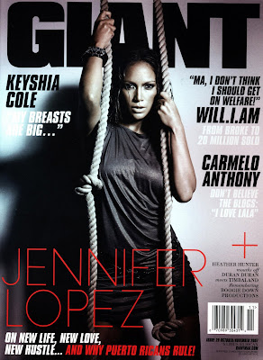 001 Jennifer Lopez Covers GIANT Magazine