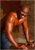 Steve Harvey Unveils New Body