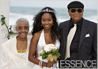 Neosha With Grandparents