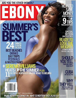 serena Serena Wlliams Covers Ebony