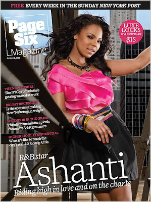 Ashanti Covers Page Six