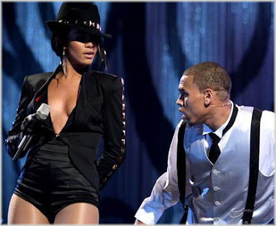 rihanna and chris brown picture Rihanna & Chris Brown Rule The Charts
