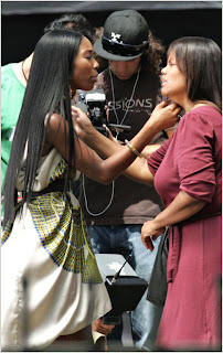 brandy video 2 Brandy Update; Video Set Pics, New Album, Oprah & More