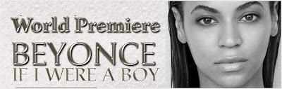 Beyonce - 'If I Were A Boy'