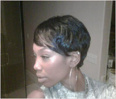 brandy+short+hair Brandy Unveils New Short Do