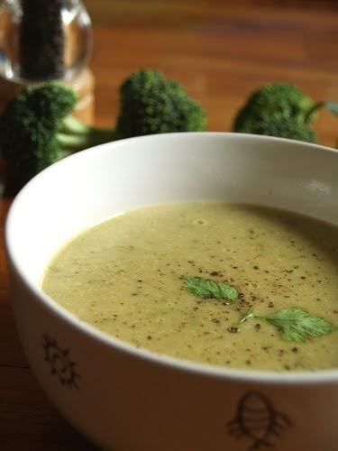 Dialed-In Nutrition: Creamy Broccoli Soup