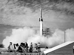 NASA First Launch Rocket