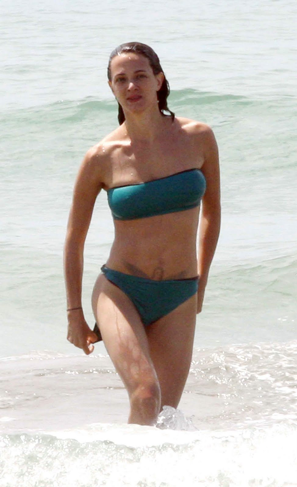 Images: Asia Argento (Green Bikini) on a beach in Forte dei Marmi on 7 ... Lady Gaga
