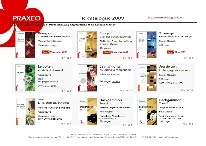 Le catalogue Praxeo 2011