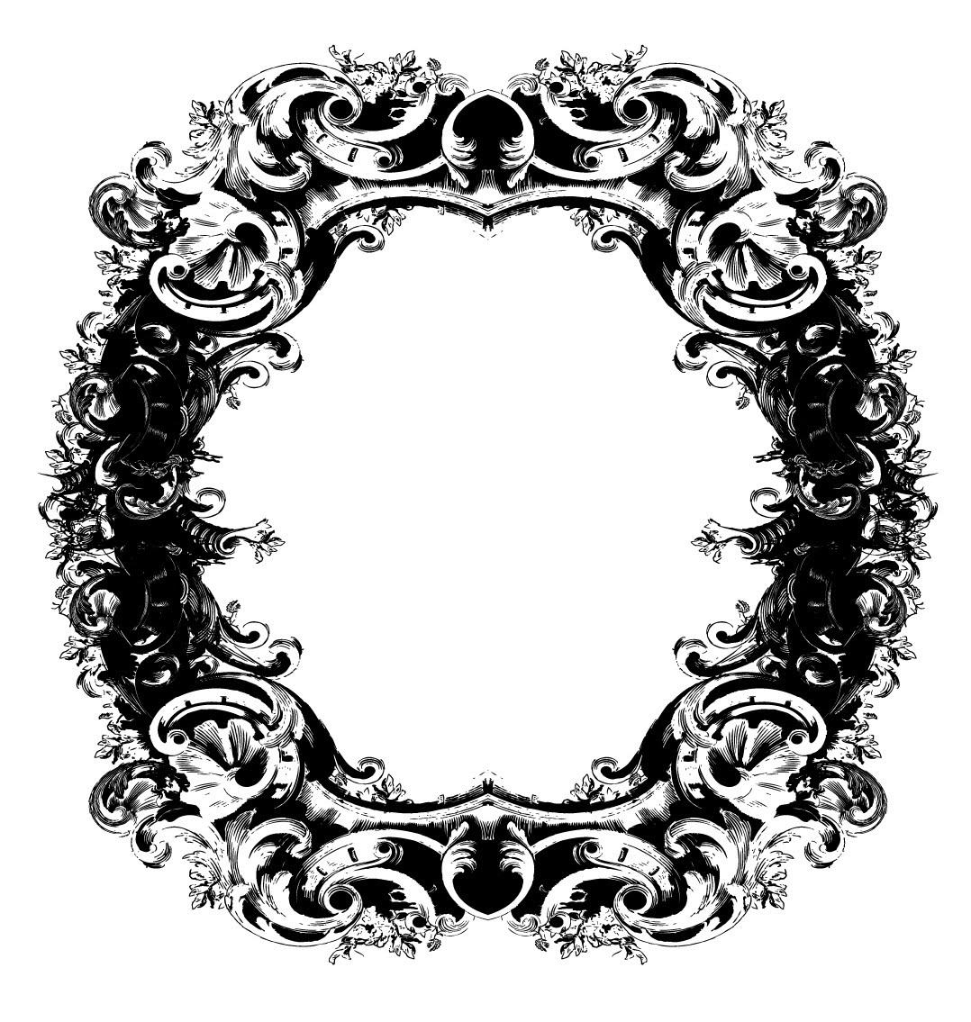 Marco vector imagui for Ornamental definicion