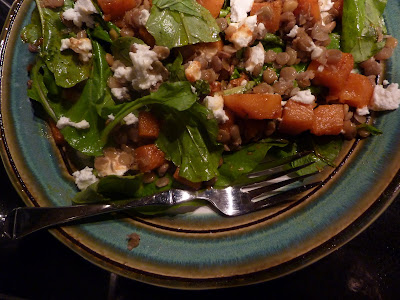 Cookin' & Craftin': Arugula Salad with Spiced Butternut ...