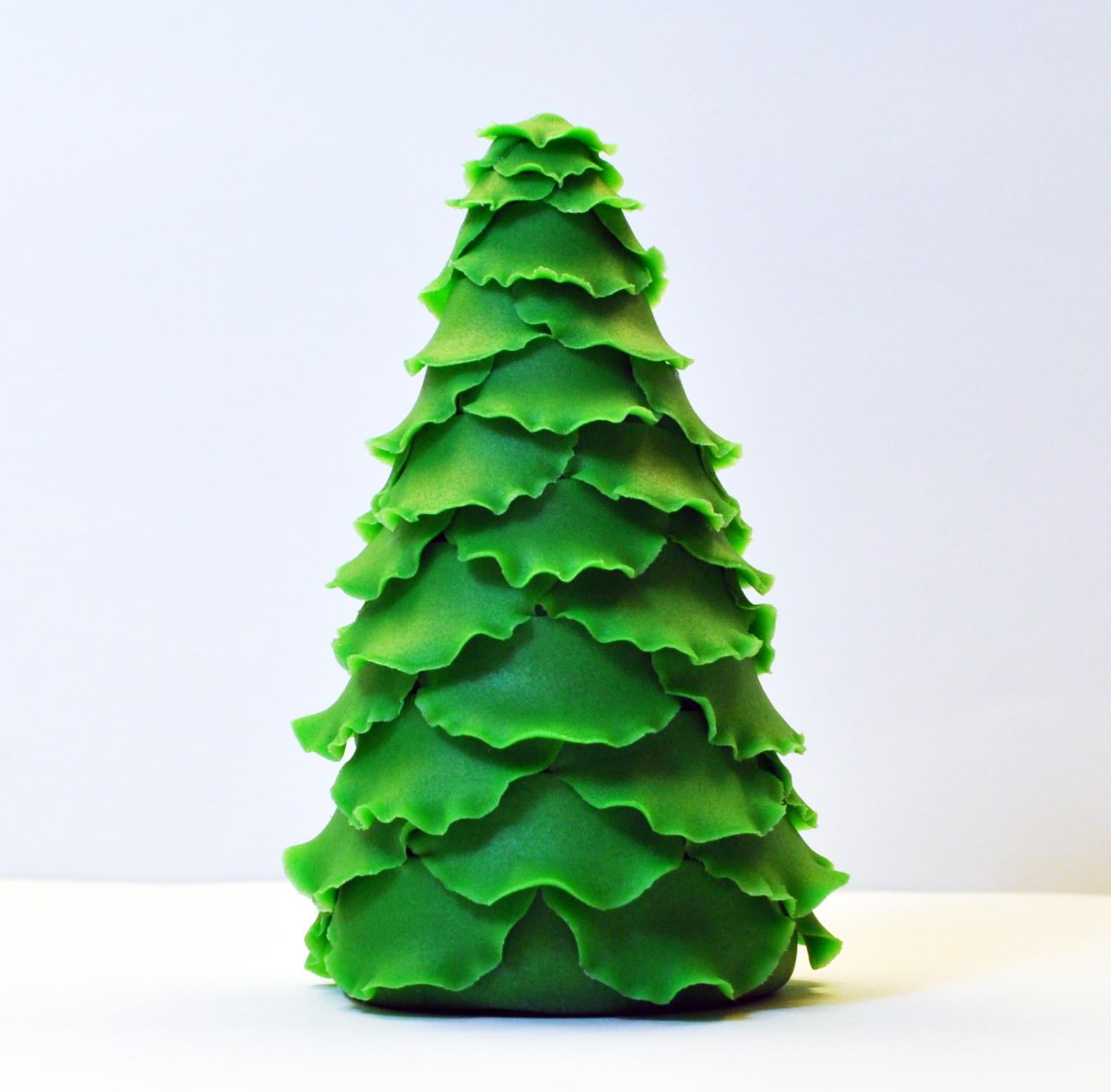 7 Christmas Tree: Judy's Cakes: Christmas Tree Tutorial #7