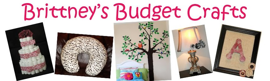 Brittney&#39;s Budget Crafts