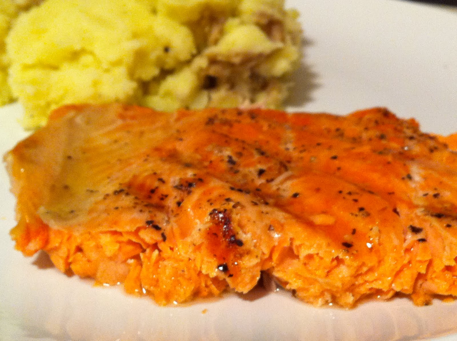 Mangoes & Lemons: Grilled Salmon with Lime Butter Sauce