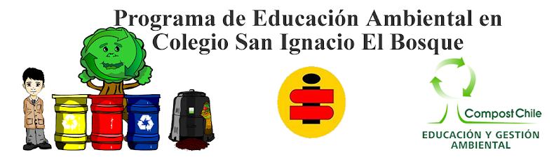 Programa de Educación Ambiental en Colegio San Ignacio El Bosque