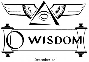 Sacred Space102fm: Advent - O Antiphons - O Wisdom!