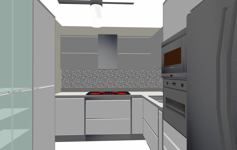 Cocina Cuadrada. Latest Mesa Cuadrada Sue X De Cocina Madera Blanca ...