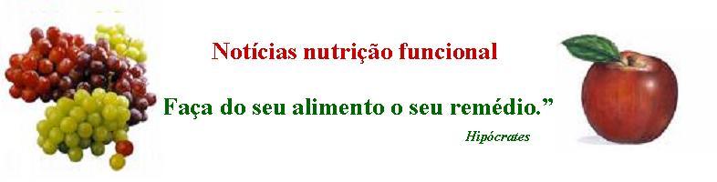 Notícias nutrição Funcional