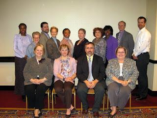 SLA Board of Directors.  Not shown is Ulla de Stricker.