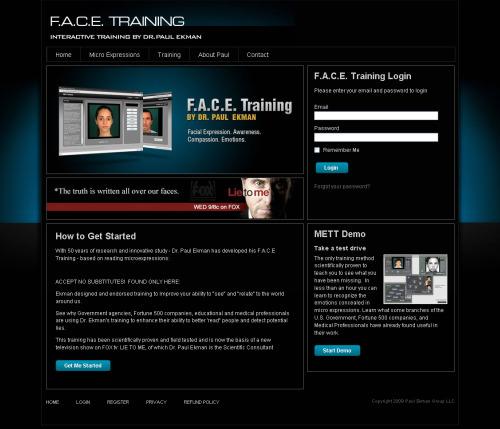 Ejercicio facial desarrollado por phpbb