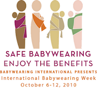 international babywearing week 2010