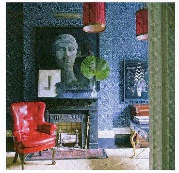 pink wallpaper room. pink wallpaper room.