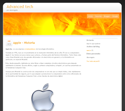 advanced tech blogger template