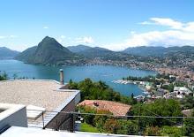 Lugano, Suiça no cantão de Ticino.