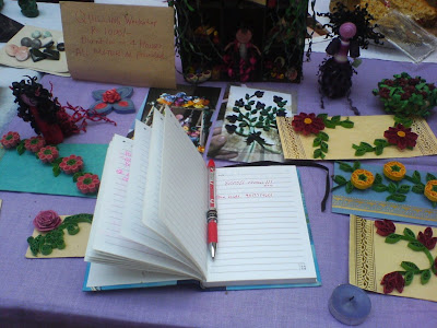 This Week at the Farmer's Market - Quilling Workshop