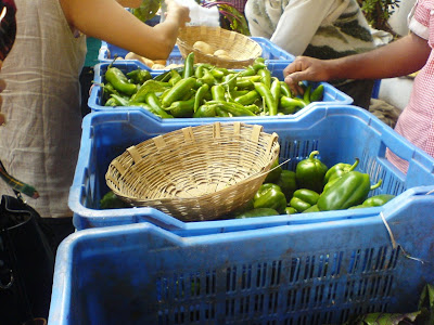 This Week at the Farmer's Market - Peppers