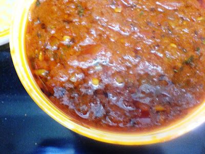 Tomato Bharta (Roasted Tomato Stew)