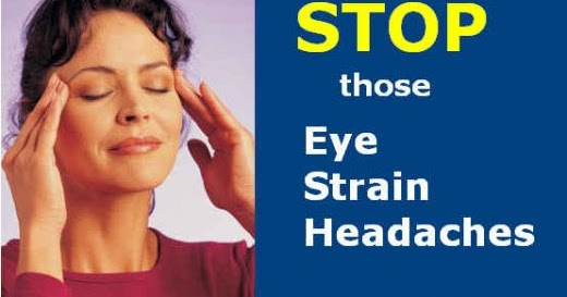 Computer eye strain symptoms, causes, prevention tips
