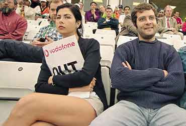 Pix: Rahul Gandhi & his columbian GF Veronica(Veroinique) a.k.a