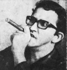 Heberto Padilla, cuban poet.