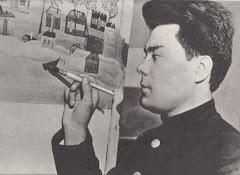 Konstantin Pankov, famous etnic nenets painter worlwide.