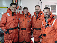 Team of scientist Antartica research.er