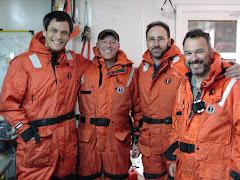 Team of scientist Antartica research.er