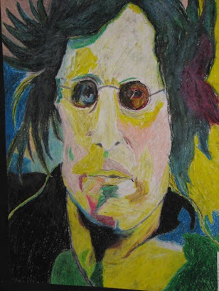 potter's 1st oil pastel (2008/8th grade)