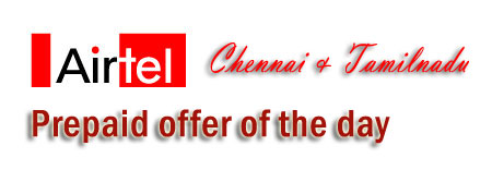 Airtel offer of the day