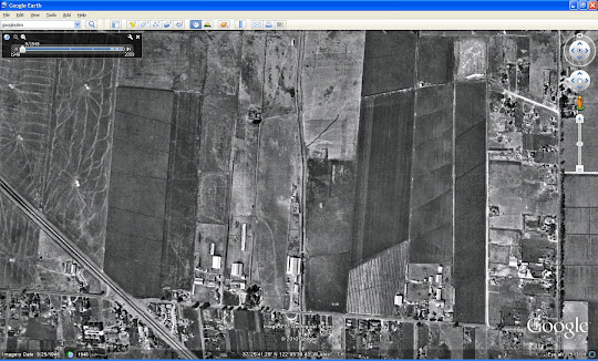 Google Earth 6 - historical imagery