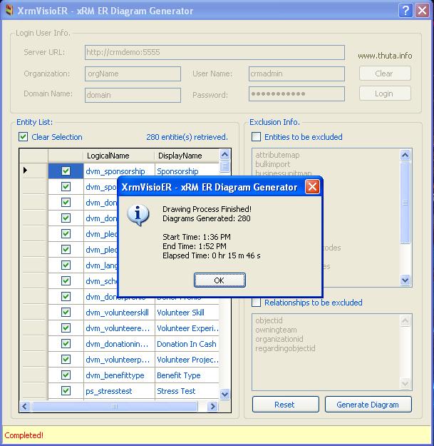 Xrmvisioer Crmxrm Er Diagram Generator Revised Version Xrm