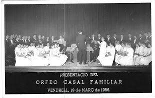 Primer concert del Cor-Orfeó