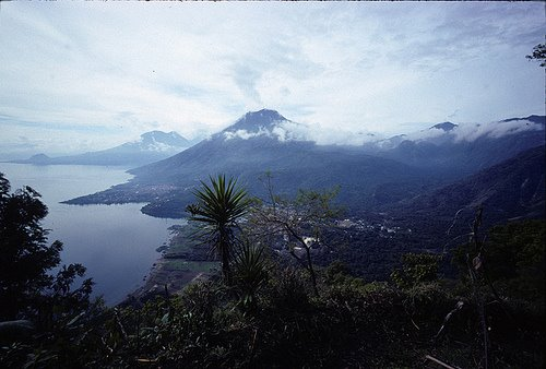 Dawn over Atitlan