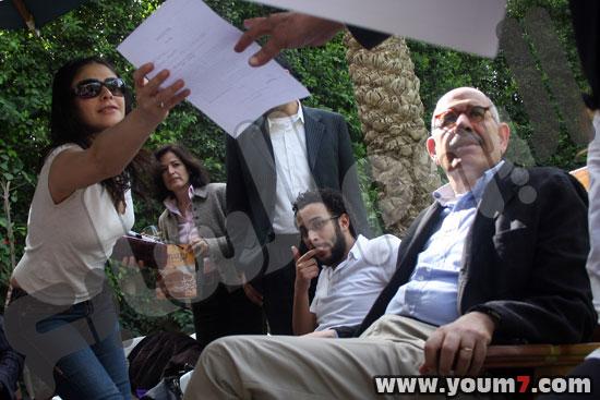 Basma and ElBaradei (copyrights:Youm7.com)