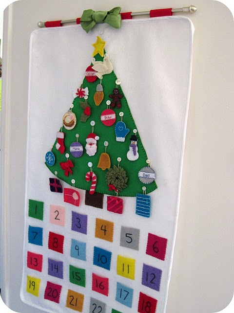 Sewn Advent Calendar Ideas : Megity s handmade advent calendar ideas
