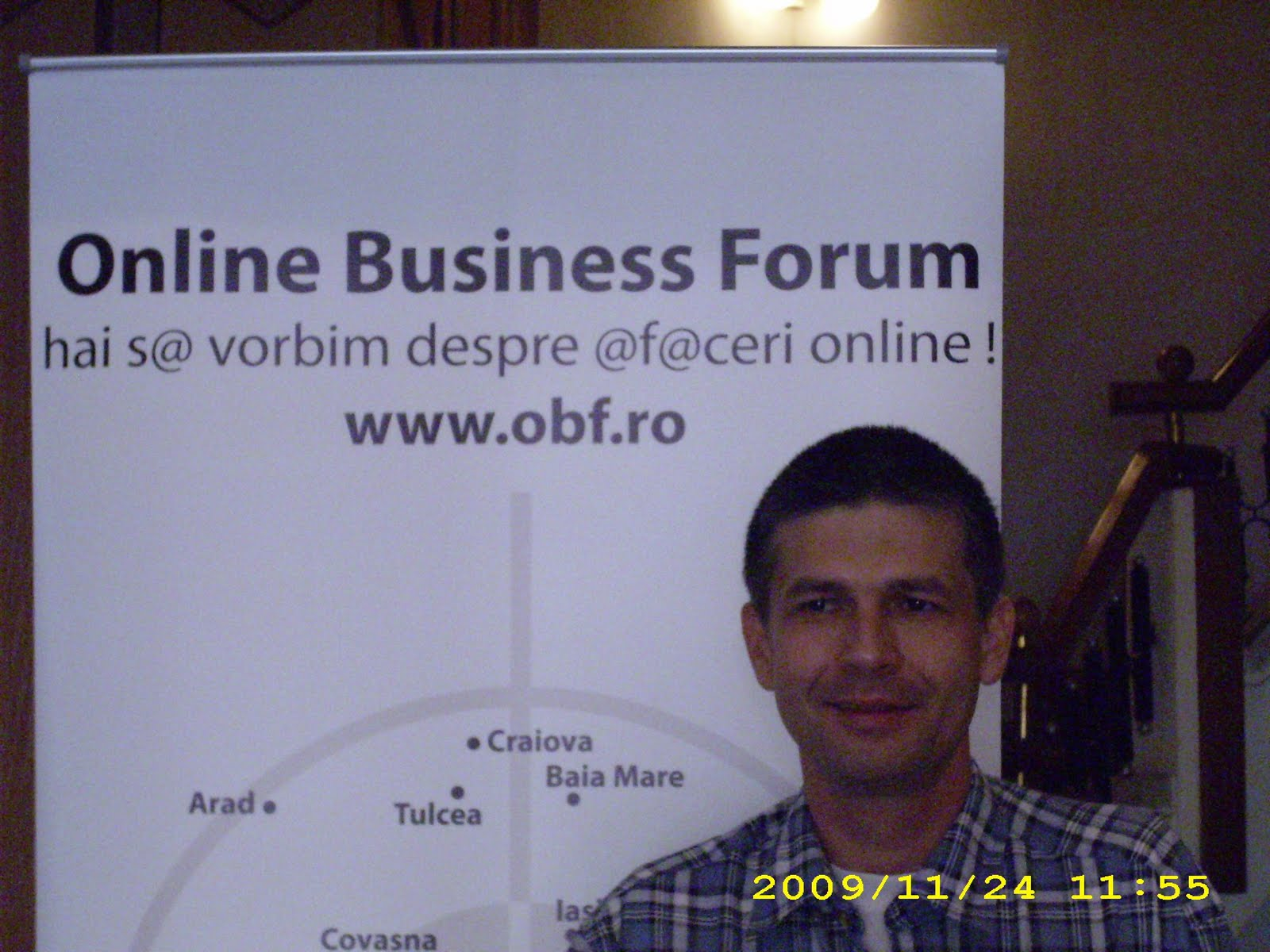 Sorin Frumuseanu Online Business Forum Tirgu Mures