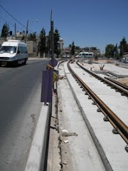 New LIght Rail for Israeli Settlers
