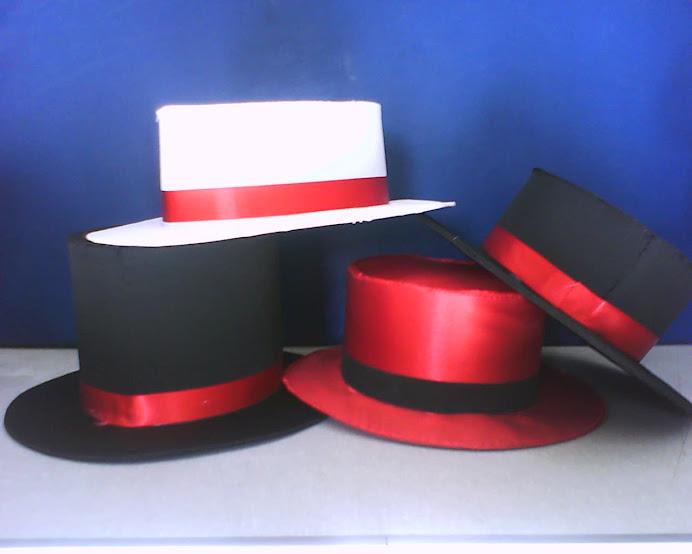 Chapéus e Cartolas