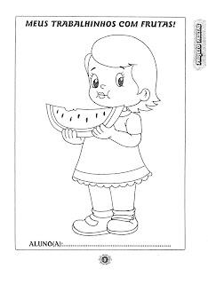 PAG3 atividades para trabalhar na semana da alimentação para crianças