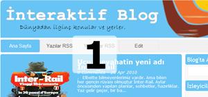 Blogger şablonunu özelleştirmek